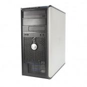 Calculator DELL OptiPlex 360 Tower, Intel Core 2 Duo E7400 2.80GHz, 4GB DDR2, 80GB SATA, DVD-RW, Second Hand Calculatoare Second Hand