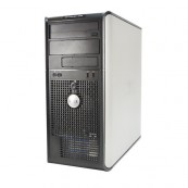 Calculator DELL OptiPlex 360 Tower, Intel Pentium Dual Core E5500, 2.80GHz, 2GB DDR2, 160GB SATA, DVD-RW, Second Hand Calculatoare Second Hand
