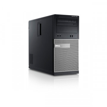 Calculator DELL Optiplex 390 Tower, Intel i3-2100 3.10GHz, 4GB DDR3, 250GB SATA, DVD-RW Calculatoare Second Hand