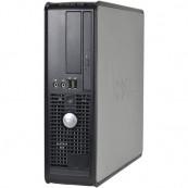 Calculator DELL Optiplex 745 SFF, Intel Core 2 Duo E6300 1.86GHz, 1GB DDR2, 80GB SATA, DVD-ROM, Second Hand Calculatoare Second Hand