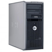 Calculator DELL Optiplex 745 Tower, Intel Core 2 Duo E6400 2.13GHz, 2GB DDR2, 160GB SATA, DVD-ROM, Second Hand Calculatoare Second Hand