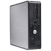 Calculator Dell OptiPlex 755 Desktop, Intel Core2 Duo E8400 3.00GHz, 2GB DDR2, 160GB SATA, DVD-ROM Calculatoare Second Hand