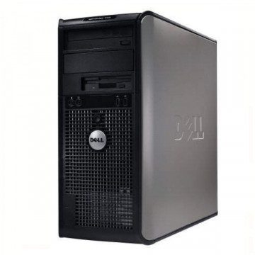 Calculator DELL Optiplex 755 Tower, Intel Dual Core E2180, 2.00 GHz, 2 GB DDR 2, 160GB SATA, DVD-RW Calculatoare Second Hand