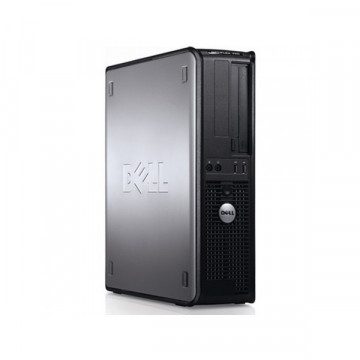 Calculator Dell OptiPlex 760 Desktop, Intel Core2 Duo E7400 2.80GHz, 2GB DDR2, 160GB SATA, DVD-RW Calculatoare Second Hand