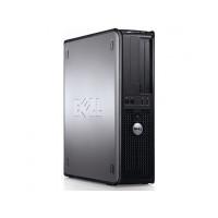 Calculator Dell OptiPlex 760 Desktop, Intel Pentium Dual Core E5200 2.50GHz, 2GB DDR2, 160GB DDR2, DVD-RW