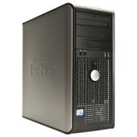 Calculator Dell Optiplex 760 Tower, Intel Pentium E5400 2.70GHz, 4GB DDR2, 250GB SATA, DVD-RW