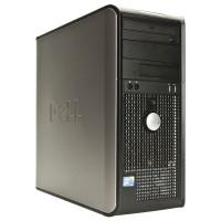 Calculator Dell Optiplex 760 Tower, Intel Pentium E5400 2.70GHz, 4GB DDR2, 250GB SATA, DVD-RW