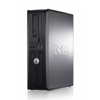 Calculator Dell OptiPlex 780 Desktop, Intel Core 2 Duo E7400 2.80GHz, 2GB DDR2, 160GB SATA, DVD-RW