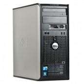 Calculator Dell OptiPlex 780 Tower, Intel Core 2 Quad Q6600 2.40GHz, 4GB DDR2, 160GB SATA, DVD-RW, Second Hand Calculatoare Second Hand