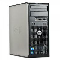 Calculator Dell OptiPlex 780 Tower, Intel Core 2 Quad Q6600 2.40GHz, 4GB DDR2, 160GB SATA, DVD-RW