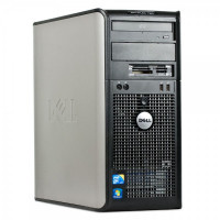 Calculator Dell OptiPlex 780 Tower, Intel Pentium E5300 2.60GHz, 2GB DDR2, 160GB SATA, DVD-RW