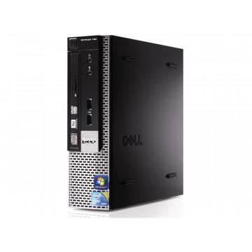 Calculator Dell Optiplex 780 USFF, Intel Core 2 Duo E7500 2.93GHz, 4GB DDR3, 250GB SATA, DVD-ROM, Second Hand Calculatoare Second Hand