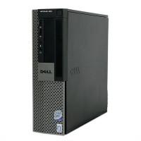 Calculator Dell OptiPlex 960 SFF, Intel Core2 Quad Q9400 2.66GHz, 4GB DDR2, 320GB SATA, DVD-RW