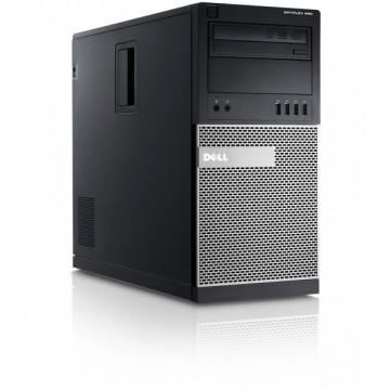 Calculator DELL OptiPlex 990 Tower, Intel Core i5-2500, 3.30GHz, 2GB DDR3, 250GB SATA, DVD-RW Calculatoare Second Hand