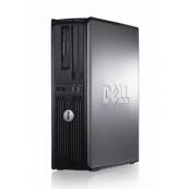Calculator DELL Optiplex GX760 SFF, Intel Core 2 Duo E8400 3.00 GHz, 4GB DDR 2, 80GB SATA, Second Hand Calculatoare Second Hand