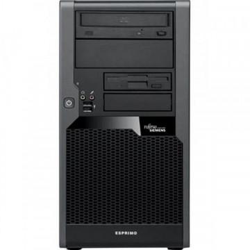 Calculator FUJITSU Esprimo P5731 MiniTower, Intel Dual Core E5500 2.80 GHz, 4 GB DDR 3, 250GB SATA, DVD-RW Calculatoare Second Hand