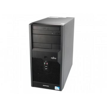 Calculator Fujitsu P3520, Intel Dual Core E5300, 2.6Ghz, 2Gb DDR2, 160Gb SATA, DVD-RW Calculatoare Second Hand