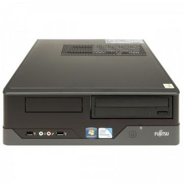 Calculator FUJITSU SIEMENS E400 SFF, Intel Core i3-2120 3.3 GHz, 4 GB DDR 3, 500GB SATA, DVD-RW Calculatoare Second Hand