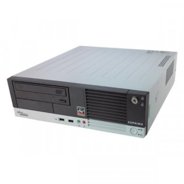 Calculator FUJITSU SIEMENS E5915 SFF, Intel Core i3-2120 3.30GHz, 4GB DDR2, 500GB SATA, DVD-RW Calculatoare Second Hand
