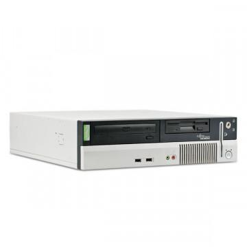 Calculator Fujitsu Siemens E600 Intel P4, 2.6ghz, 512mb, 40gb, CD-ROM, 2x Serial(COM) Calculatoare Second Hand