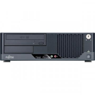 Calculator Fujitsu Siemens Esprimo E5731, Core 2 Duo E6550, 2.3Ghz, 2Gb DDR3, 160Gb, DVD-RW Calculatoare Second Hand