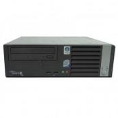 Calculator FUJITSU SIEMENS Esprimo E5925 SFF, Intel Core2 Duo E6550 2.33GHz, 2 GB DDR2, 80GB SATA, DVD-ROM Calculatoare Second Hand