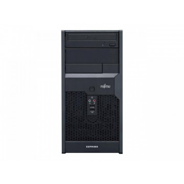 Calculator Fujitsu Siemens Esprimo P2560, Intel Pentium Dual Core E7500 2.93GHz, 4GB DDR3, 250GB SATA, DVD-RW, Second Hand Calculatoare Second Hand