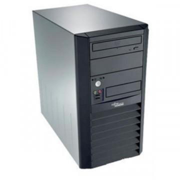Calculator FUJITSU SIEMENS Esprimo P3500 Tower, Intel Celeron D 360 3.46 GHz, 1 GB DDR 2, 80GB SATA, DVD-RW Calculatoare Second Hand