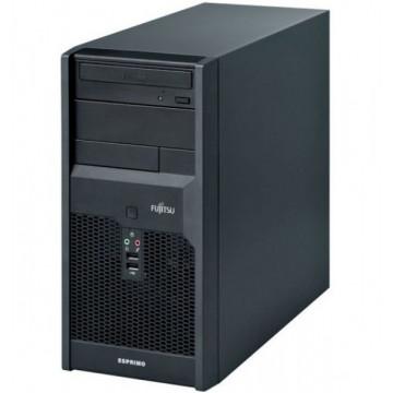 Calculator FUJITSU SIEMENS P3521 Tower, Intel Dual Core E5800, 3.2 GHz, 4 GB DDR 3, 320GB SATA, DVD-RW  Calculatoare Second Hand