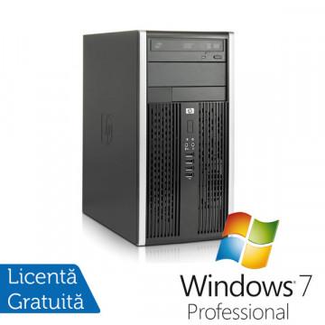Calculator HP 6000 Pro, Intel Core 2 Duo E8400, 3.0Ghz, 4Gb DDR3, 250Gb HDD, DVD-RW + Windows 7 Professional Calculatoare Refurbished