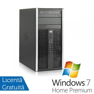 Calculator HP 6000 Pro, Intel Pentium Dual Core E5500, 2.8Ghz, 2Gb DDR3, 250Gb, DVD-RW + Win 7 Premium Calculatoare Refurbished