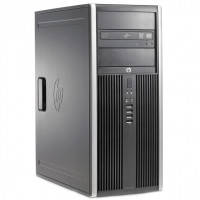 Calculator HP 6200 Tower, Intel Pentium Dual Core G640 2.80GHz, 8GB DDR3, 500GB SATA, DVD-ROM