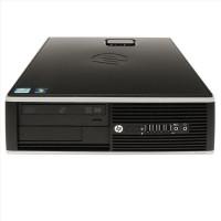 Calculator HP 8000 Elite SFF, Intel Pentium E5400 2.70GHz, 4GB DDR3, 250GB SATA, DVD-RW