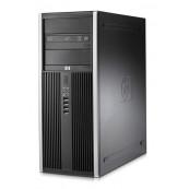Calculator HP 8000 Elite Tower, Intel Core 2 Duo E8400 3.00GHz, 4GB DDR3, 320GB SATA, DVD-ROM, Second Hand Calculatoare Second Hand