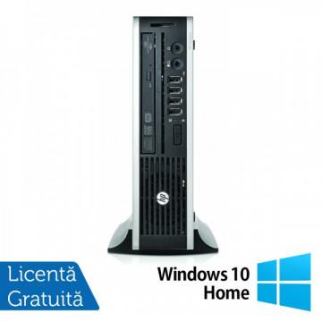 Calculator HP 8300 Elite USD, Intel Core i5-3470s Gen a 3-a 2.9GHz, 4GB DDR3, 250GB HDD SATA, DVD-RW + Windows 10 Home