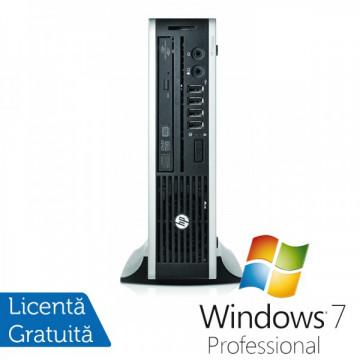 Calculator HP 8300 Elite USDT, Intel Core i5-3470s Gen a 3-a 2.9GHz, 8GB DDR3, 320GB HDD SATA, DVD-RW + Windows 7 Professional