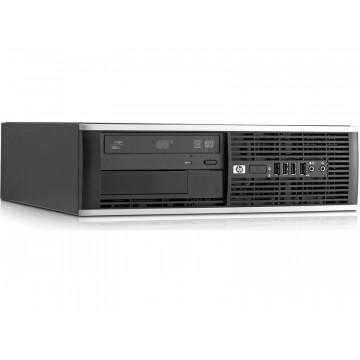 Calculator HP Compaq 6000 SFF, Intel Core 2 Duo E7500 2.93GHz, 4GB DDR3, 320GB SATA, DVD-RW Calculatoare Second Hand