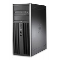 Calculator HP Compaq 8000 Elite Tower, Intel Core 2 Duo E7500, 2.93 GHz, 4 GB DDR3, 250GB SATA, DVD-ROM