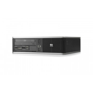 Calculator HP Compaq DC5850 SFF, AMD Athlon 64 1640B, 2.70 GHz, 2 GB DDR2, 160GB SATA, DVD-RW Calculatoare Second Hand