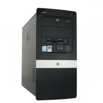 Calculator HP Compaq DX2400 MiniTower, Intel Core 2 Duo E6400, 2.13 GHz, 2 GB DDR2, 80GB SATA, DVD-RW Calculatoare Second Hand