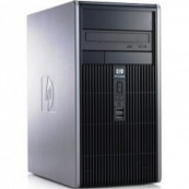 Calculator HP DC5750 MT, AMD Athlon 64 4400+ 2.30 GHz, 2GB DDR, 80GB SATA, DVD-ROM, Second Hand Calculatoare Second Hand
