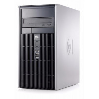 Calculator HP DC5800 Tower, Intel Pentium E5300 2.6 GHz, 4GB DDR2, 250GB SATA, DVD-ROM