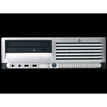 Calculator HP DC7100, SFF, Intel Pentium 4, 2.80 GHz, 1GB DDR, 80GB SATA, DVD-RW Calculatoare Second Hand