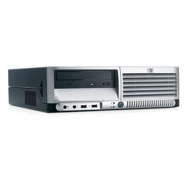 Calculator HP DC7600 Intel Pentium 4, 2.8GHz, 512mb, 40gb, DVD-ROM Calculatoare Second Hand
