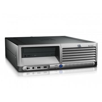 Calculator HP DC7600 SFF, Intel Celeron 2.60 GHz, 512 MB DDR2, 40GB SATA, DVD-RW Calculatoare Second Hand