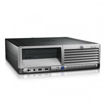 Calculator HP DC7700, SFF, Intel Celeron, 3.20 GHz, 1 GB DDR2, 80GB SATA, DVD-RW Calculatoare Second Hand