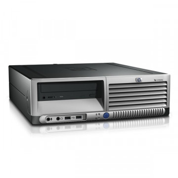 Calculator HP DC7700 SFF, Intel Core 2 Duo E6300, 1.86 GHz, 2 GB DDR2, 160GB SATA, DVD-RW Calculatoare Second Hand