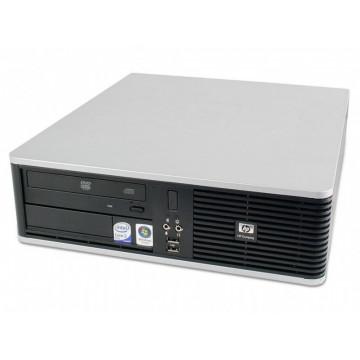 Calculator HP DC7800p, SFF, Intel Dual Core E5300, 2.60 GHz, 4 GB DDR 2, 160GB SATA, DVD-RW