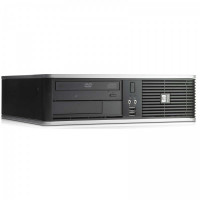 Calculator HP DC7900 SFF, Intel Core 2 Duo E8400 3.00GHz, 4GB DDR2, 250GB SATA, DVD-RW