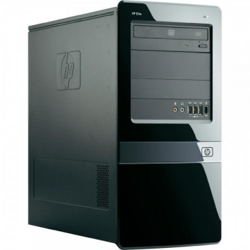 Calculator HP Elite 7300 MT, Intel Core i3-2100 3.10 GHz, 4GB DDR3, 750GB SATA, DVD-RW Calculatoare Second Hand